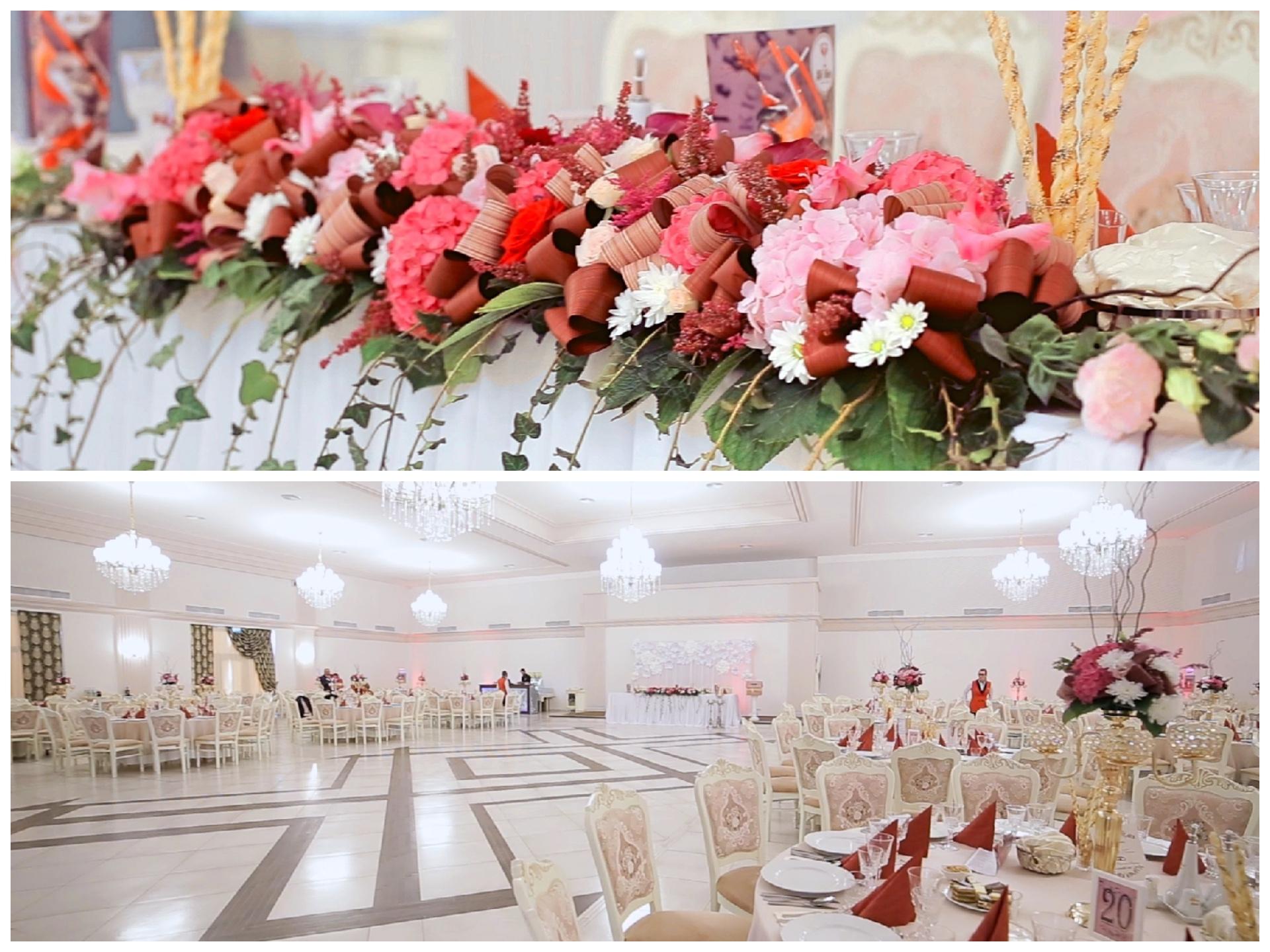 Wedding venue in Satu Mare, Simfonia ballroom, Esedra restaurant