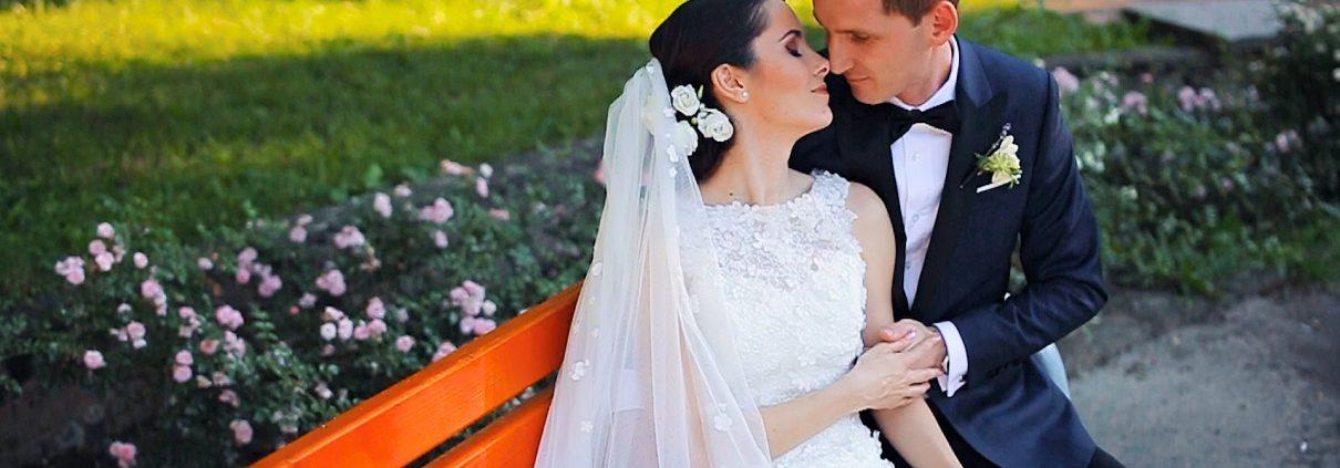 Bride and groom, wedding in Satu Mare