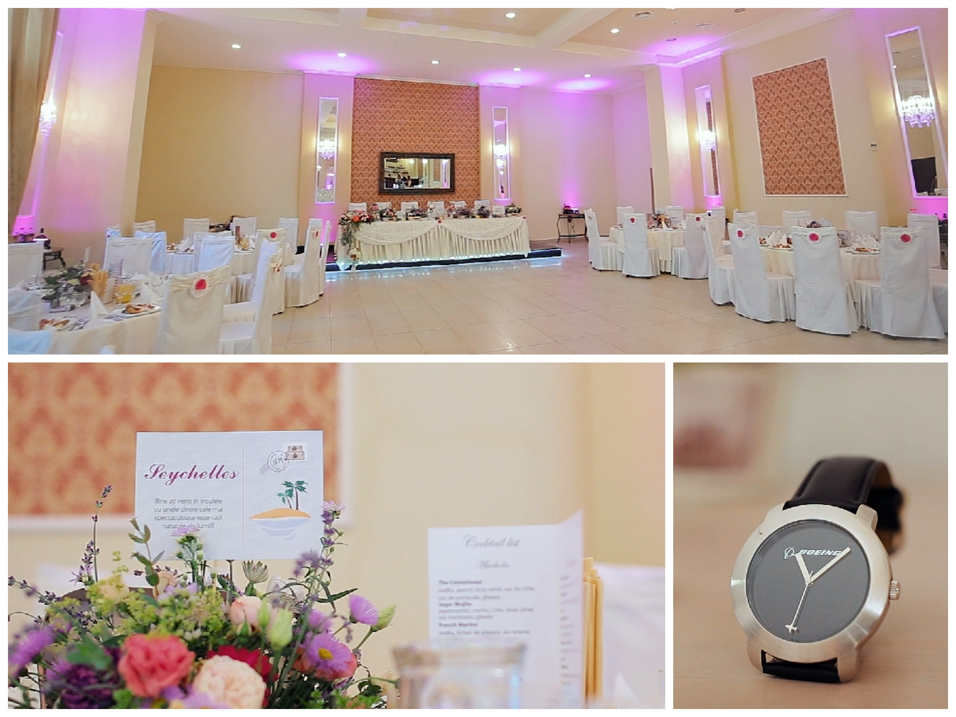Travel themed wedding with decoration in Satu Mare