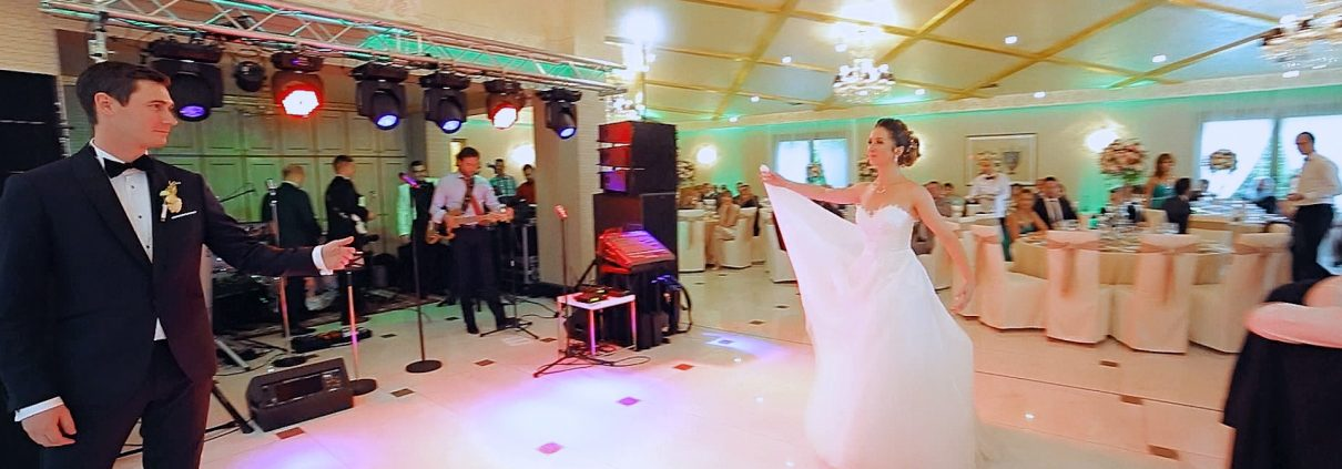 DaVinci venue, Cluj, Transylvania - Wedding first dance