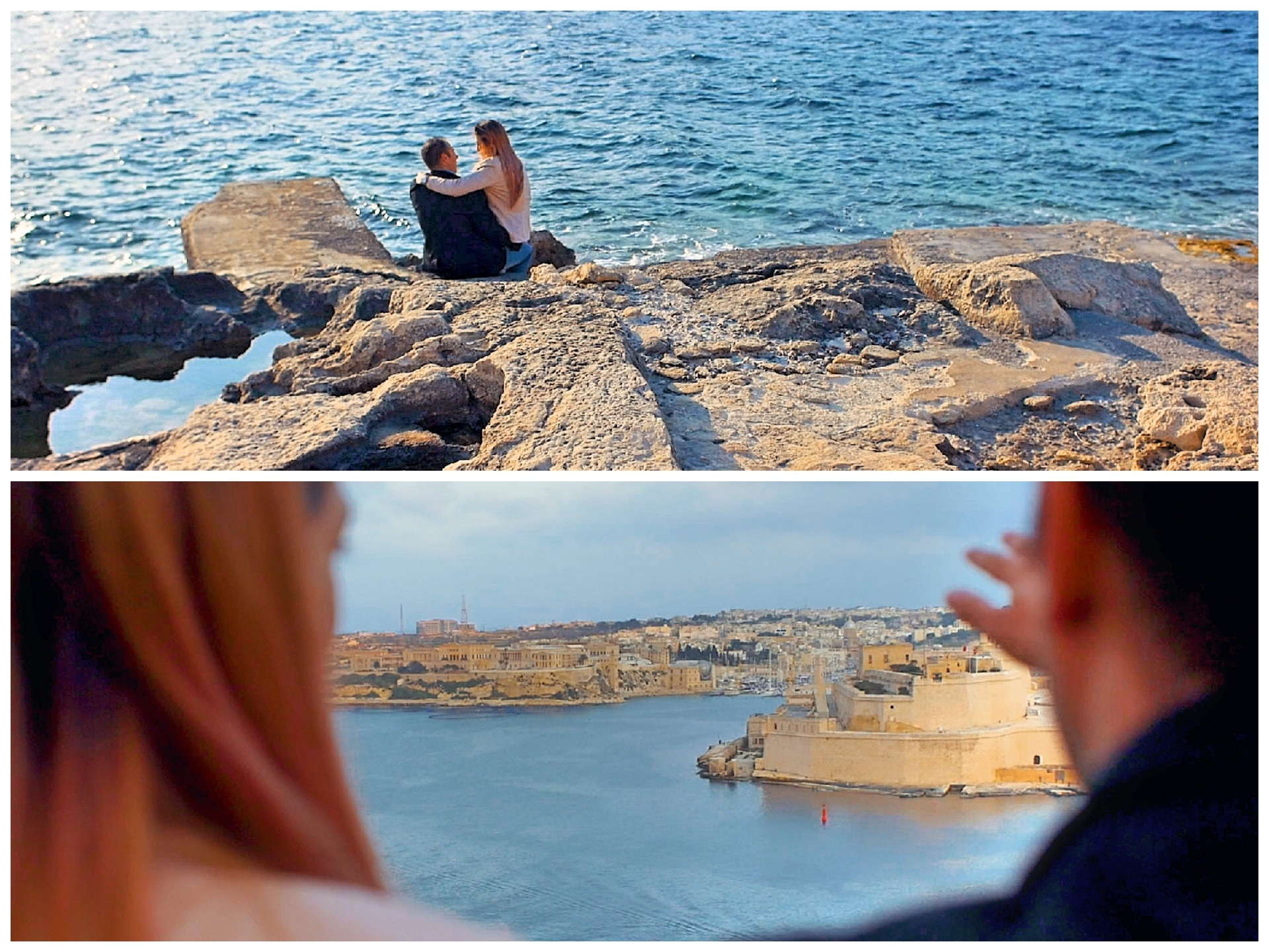 Save the date video in Malta