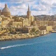 Valetta, Malta's capital - Aerial view